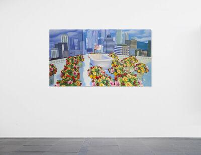 Mak Ying Tung 2 麥影彤二, 'Home Sweet Home: Flower Tub Pool 2020 3', 2020