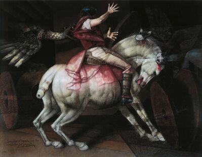 David Manzur, 'San Jorge Atrapado por los Dragones', 1994