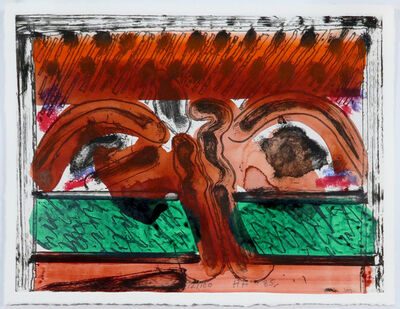 Howard Hodgkin, 'DH in Hollywood', 1985