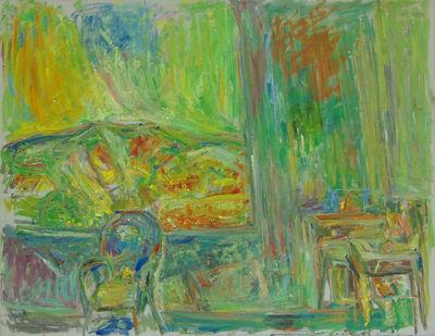 Pinchus Kremegne, 'Interior of Studio in Céret | Intérieur d'Atelier à Céret'