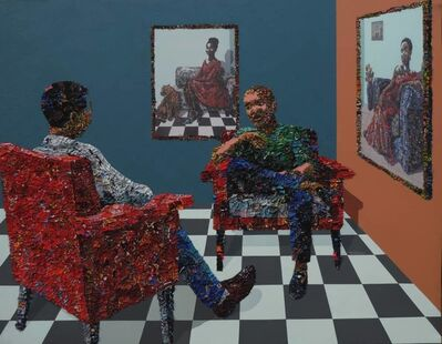 Marcellina Akpojotor, 'In Her  Space', 2019