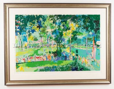 LeRoy Neiman, 'US Open Oakmont Golf', 1983