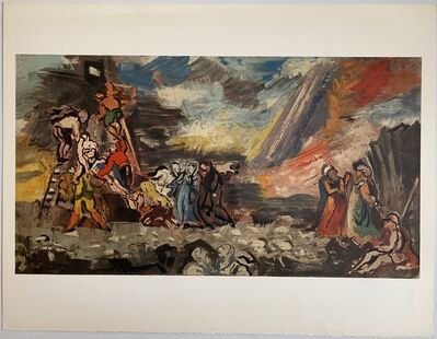 Charles Dufresne, 'Descente de Croix', 1932 / Printed 1971