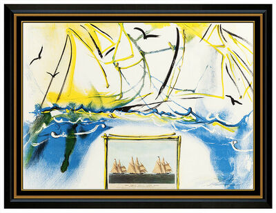 Salvador Dalí, 'American Yachting Scene', 1971
