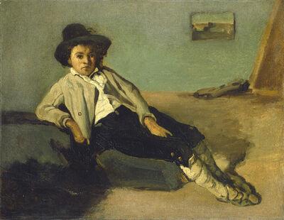 Jean-Baptiste-Camille Corot, 'Italian Peasant Boy', 1825/1827