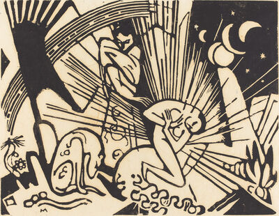 Franz Marc, 'Reconciliation (Versoehnung)', 1912