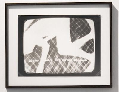 Ulrike Rosenbach, 'Meine Macht ist meine Ohnmacht', 1978