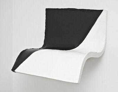 Eduardo Costa, 'Bicromo blando blanco y negro en diagonal', 2007-2008