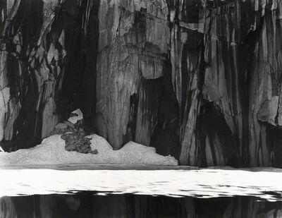 Ansel Adams, 'Frozen Lake and Cliffs, Kaweah Gap Sequoia National Park, California', 1927