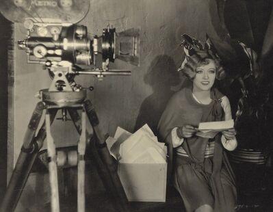James Manatt, 'Marion Davies with Camera', early 1930s