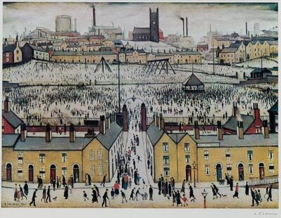 Laurence Stephen Lowry, 'Britain at Play'