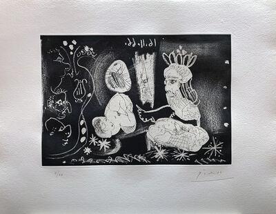 Pablo Picasso, 'Au Théâtre: Scène dans le style des Mille et une Nuits', 1966