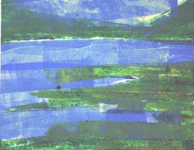 Linda Lynton, 'Echo Lake Blues [view from the west]', 2019
