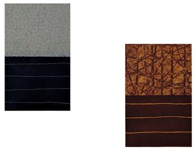 David Shapiro (1944-2014), 'Kala 2 & 3', 1989