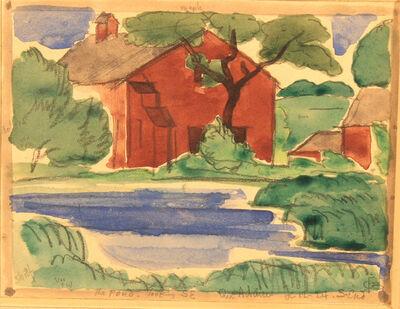 Oscar Bluemner, 'The Pond', 1924