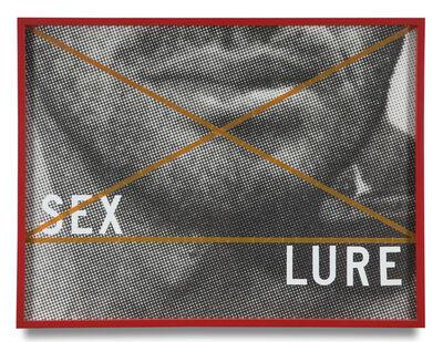 Barbara Kruger, 'Sex/Lure', 1979