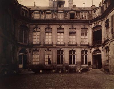 Eugène Atget, 'Hotel Mascarani, Rue Charlot 83 (3e)', 1901