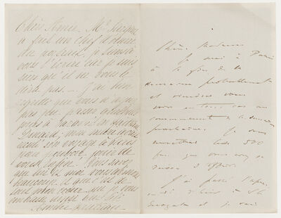 Virginie Amélie Avegno Gautreau, 'Letter regarding John Singer Sargent's Madame X'