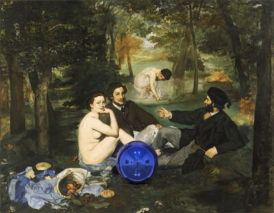 Jeff Koons, 'Gazing Ball (Manet Luncheon on the Grass)', 2014-2015