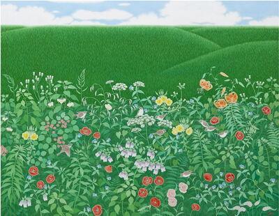 Lee Hae Kyung (b. 1957), 'Green Feeling', 2016