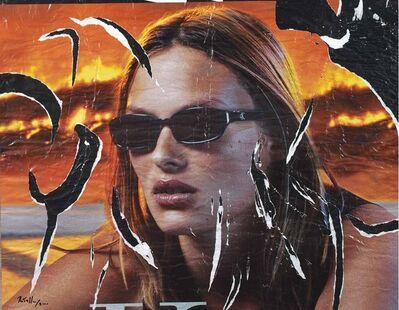 Mimmo Rotella, 'Senza titolo', 2000