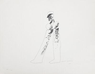 David Hockney, 'Walking Man', 1964