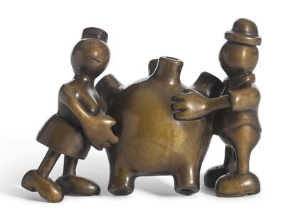 Tom Otterness, 'Couple with a Heart', 1993