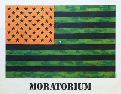 Jasper Johns, 'Moratorium', 1969