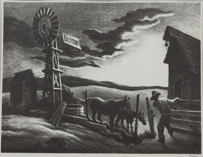 Thomas Hart Benton, 'Nebraska Evening', 1941