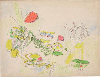 Roberto Matta, 'Composizione (7 Luglio)', circa 1964-65