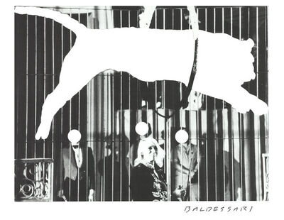 John Baldessari, 'Tiger With No Stripes', 2017