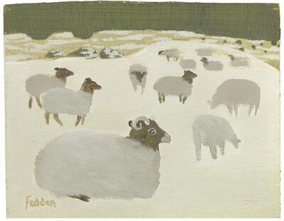 Mary Fedden, 'Sheep'
