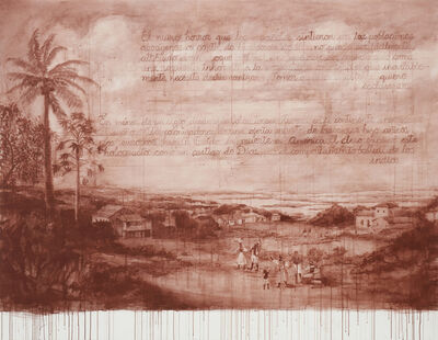 Sandra Gamarra, 'Recurso III (De la serie Rojo Indio)', 2018