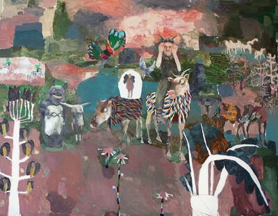 Mònica Subidé, 'Travesia en el bosque de Nolde Miroco', 2019