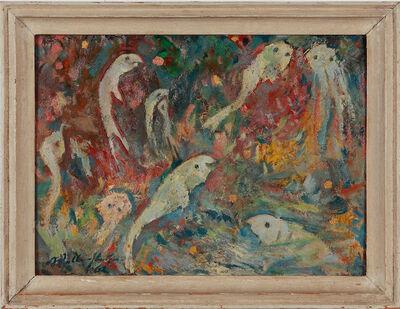 """Walter Wellenstein, '""""Weisse Fische""""', 1962"""