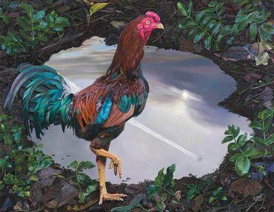 Deborah Poynton, 'Rooster and Jet', 2021