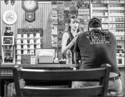 Gary Hodson, 'Free Coffee (B&W) ', 2016