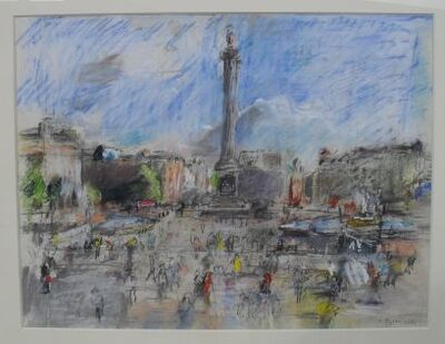 Anthony Eyton, 'Trafalgar Square', 2004