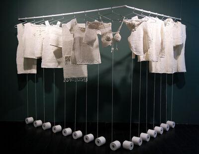 Wang Lei, 'Woven Toilet Paper', 2014