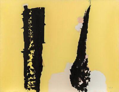 Louis Ribak, 'Untitled (Black/Yellow Abstract)', ca. 1960s