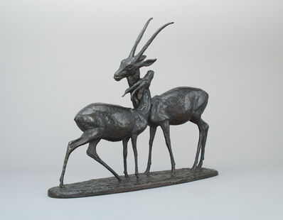 Georges-Lucien Guyot, 'Gazelles couple