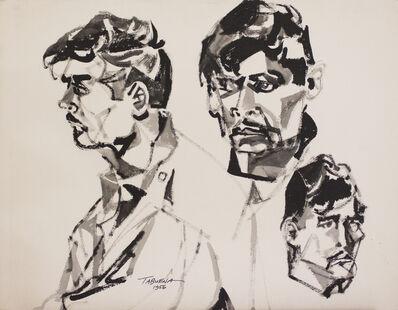 Romeo Tabuena, 'Estudio Rostro Perfil', 1956