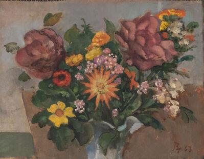 Balthus, 'Fleurs', 1963