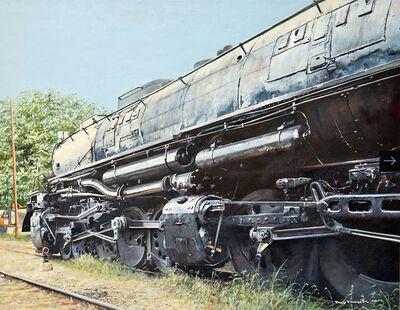 Tony Fachet, 'Locomotive', 1988