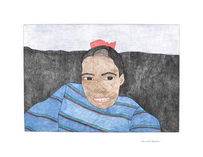 Kudluajuk Ashoona, 'Accidental Hair Cut', 2019