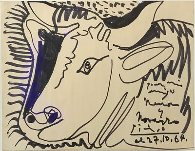 Pablo Picasso, 'Untitled, 27 October, 1964', 1964