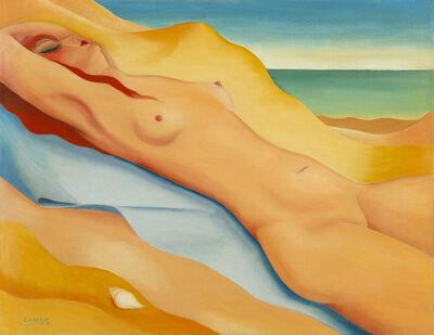 Félix Labisse, 'Sur la plage', 1931