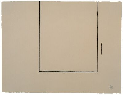 Robert Motherwell, 'Beige Open', 1981