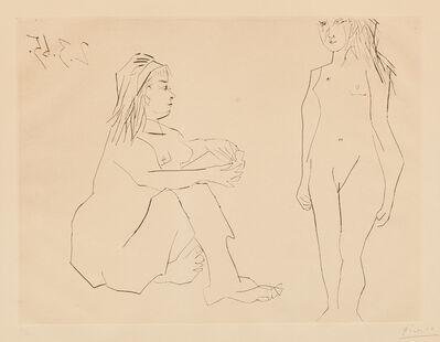 Pablo Picasso, 'Deux femmes (Two Women) (Bl. 1203, Ba. 1188)', 1965