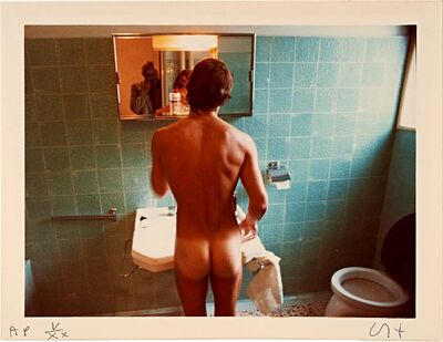David Hockney, 'Peter Washing, Belgrade, September 1970, from the collection of Ileana Sonnabend', 1976